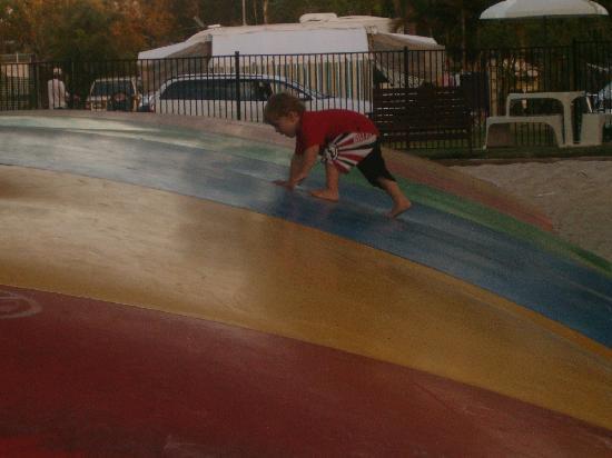 NRMA Treasure Island Holiday Resort: Lets go & jump