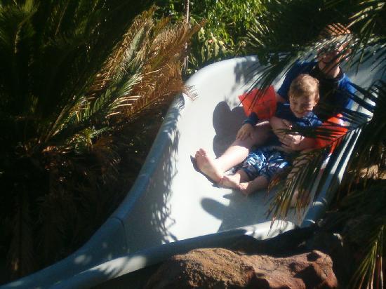 NRMA Treasure Island Holiday Resort: Pool with the slide