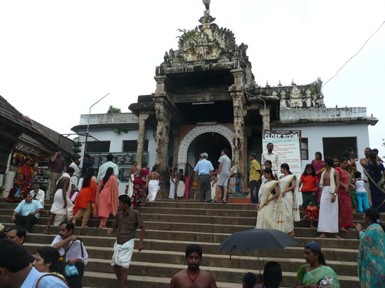เมือง Thiruvananthapuram (Trivandrum), อินเดีย: entrata del tempio Padmanabhaswamy