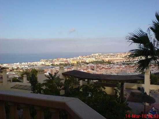 view from apartment towards the sea bild fr n clc paradise costa adeje tripadvisor. Black Bedroom Furniture Sets. Home Design Ideas