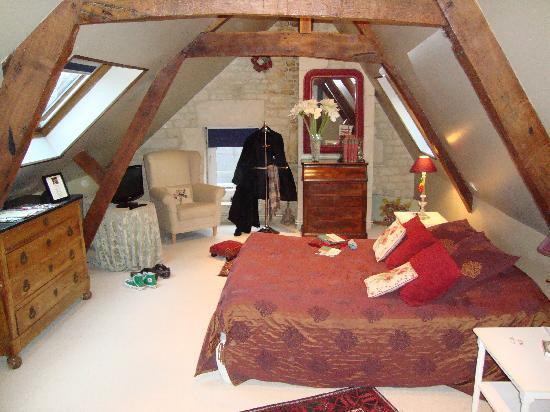 Le Clos Saint Martin: Chambre