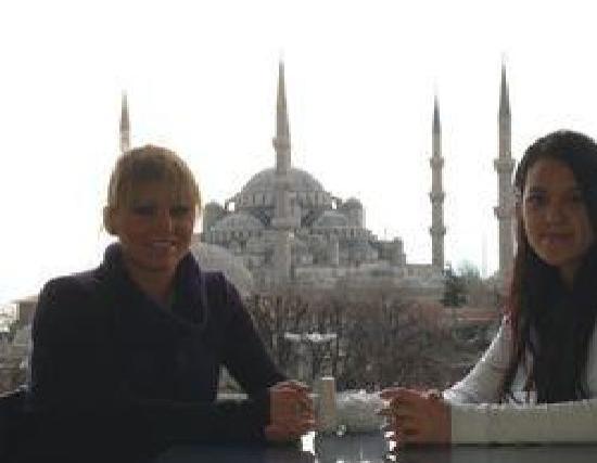 Hotel Zeliha Sultan : Terrace