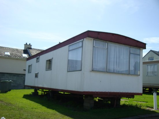 Riverstown, Ierland: One of the caravans