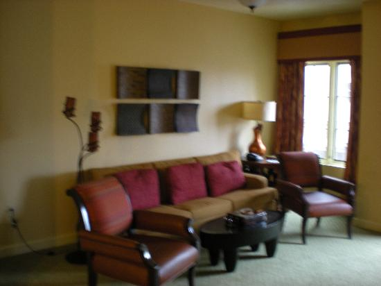 Wyndham La Cascada : Living Area