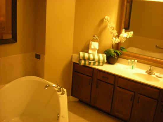 Wyndham La Cascada: Master Bath