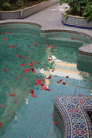 Palais Amani : fontaine