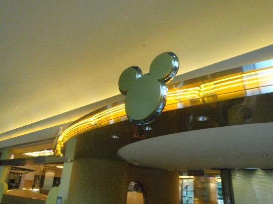 Disney's Hollywood Hotel: Chef Mickey sign