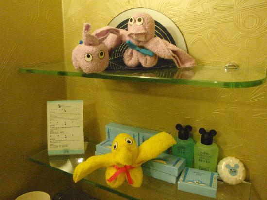 Disney's Hollywood Hotel: bathroom Mickeys
