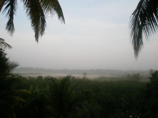 Shangri-Lanka Villa: Dawn from the top Villa