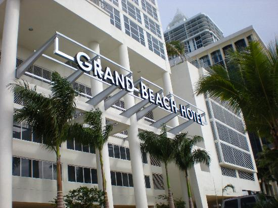 The Grand Beach Hotel Entrance
