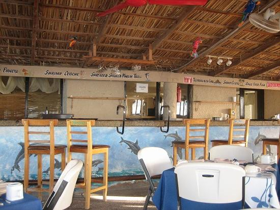 Hotel Playa San Carlos: The beach bar