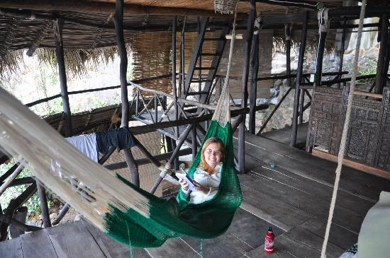 Casa Santa Cruz: Nap in the hammock