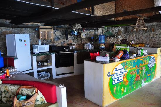 Casa Santa Cruz: Kitchen