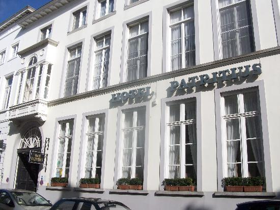 Hotel Patritius: the outside