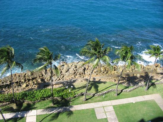 The Condado Plaza Hilton: View from our balcony