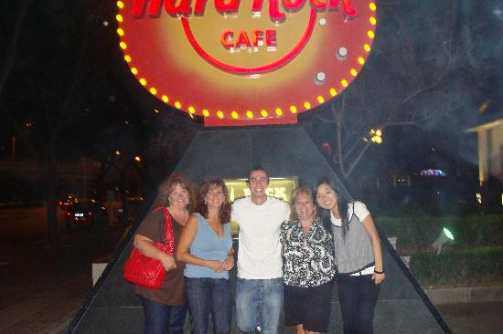 Redwall Hotel Beijing : Hard Rock Cafe