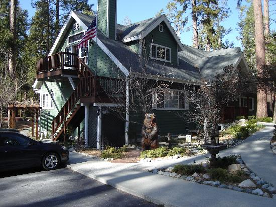Idyllwild, CA: Front of B&B