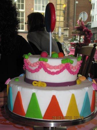 De taart van m'n tante