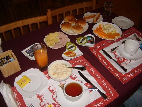 Hotel Tiare Pacific: abundante desayuno, no te da hambre hasta como las 4 de la tarde