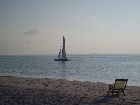 Vilamendhoo Island Resort & Spa: si avvicina il tramonto