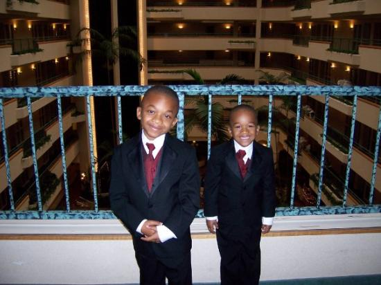 Embassy Suites by Hilton Greensboro - Airport: Trae and Jordan