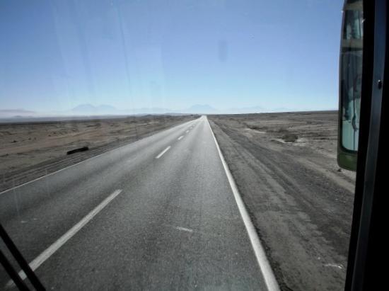 Antofagasta, Chile: Carretera Calama.