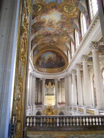 Cathedral Ceiling at Chateau Versailles