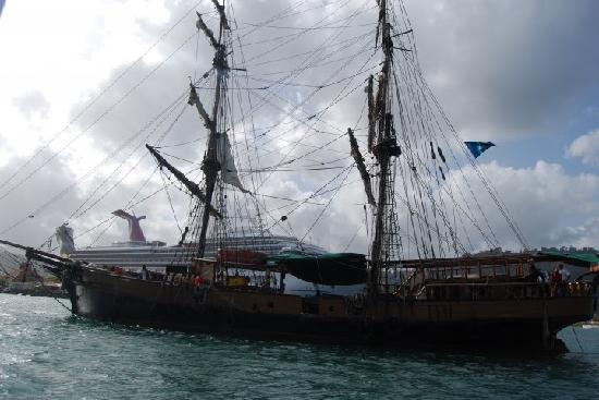"""Serenity Vacations and Tours: Tall Ship """"Brig Unicorn"""" from Pirate of the Caribbean"""