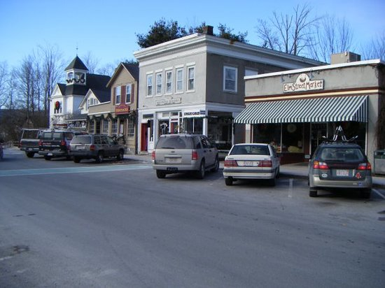 Elm Street Market : Stockbridge, MassachussettsWhere Norman Rockwall  made his paintings