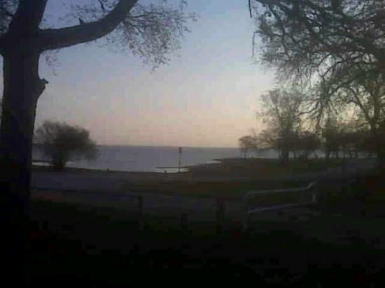 Lewisville, TX : This morning at the campsite.