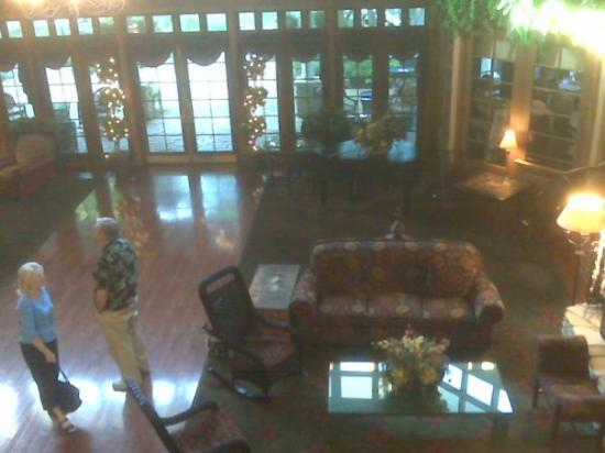 Granville, OH: Balcony overlooking the lobby