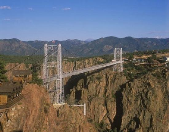 Canon City, Колорадо: The Royal Gorge Bridge