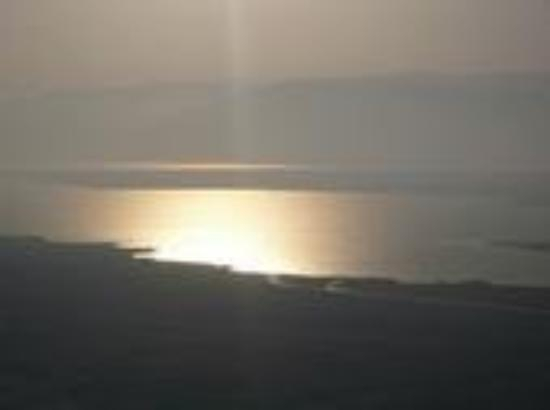 Bearden, AR: The Dead Sea! The View from Mt .Masada