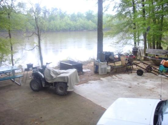Sparkman, AR: Joe's quad along the Ouchita river