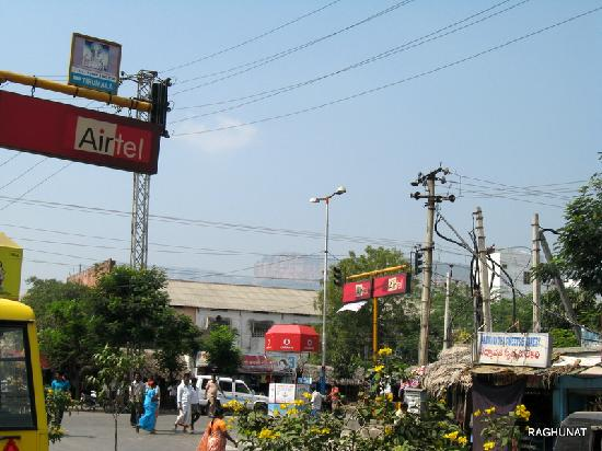 Tirupati, India: View of Hill, Towards Right From entrance to Tirumala