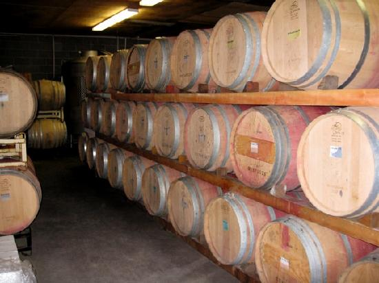 Casa Nuestra Winery and Vineyards: Barrels