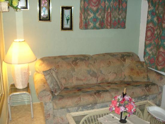 A1 Apartments Aruba: couch