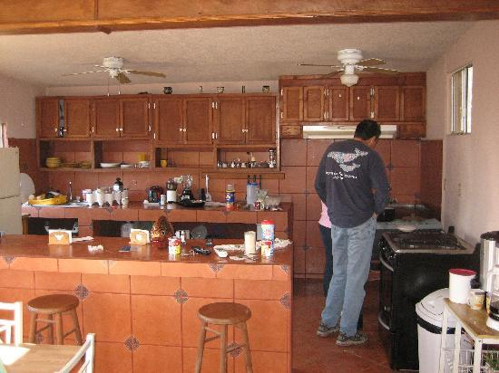 Isla Cedros, Mexico: Kitchen at Zam-Mar