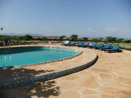 Samburu Sopa Lodge: Swimming Pool