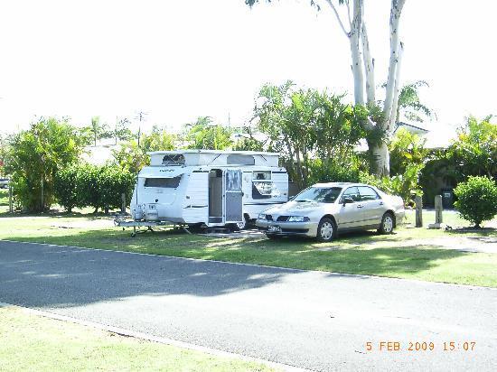 NRMA Treasure Island Holiday Park: Caravan site