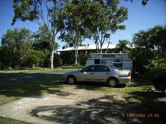 NRMA Treasure Island Holiday Park: Shady sites