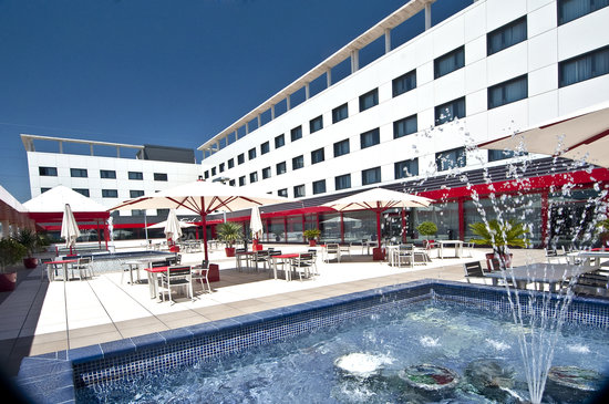 Sant Boi de Llobregat, Spain: Terraza Hotel FrontAir Congress