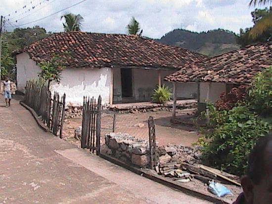 Comayagua, Honduras: my neighbor, Mercedes' house in Honduras