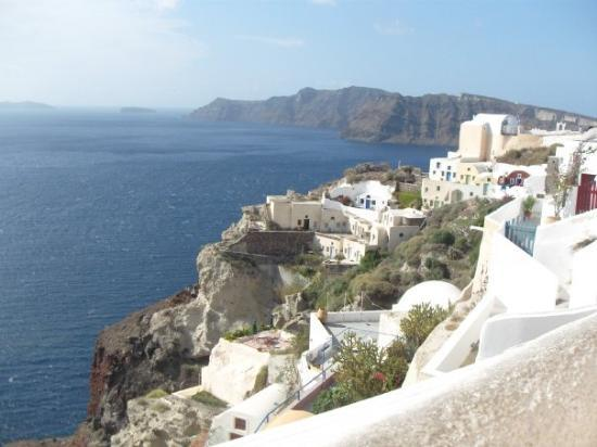 Andronis Luxury Suites: View from our balcony