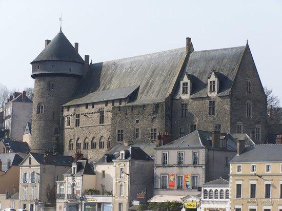 Laval, Fransa: el castillo viejo