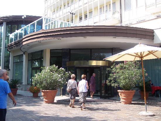 Hotel Terme Internazionale: ingresso hotel