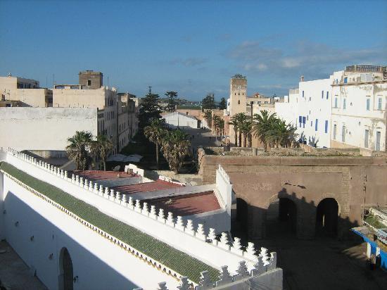 Hotel Agadir: Vista desde la terraza