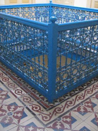 Hotel Agadir: Detalle de herrería