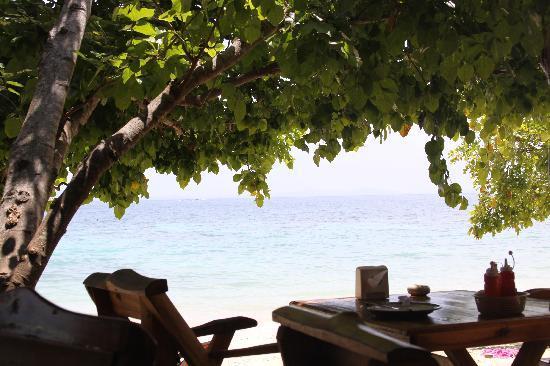 Phi Phi Relax Beach Resort: view from the restaurant