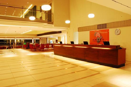Tinapa Lakeside Hotel: Amber Tinapa Reception